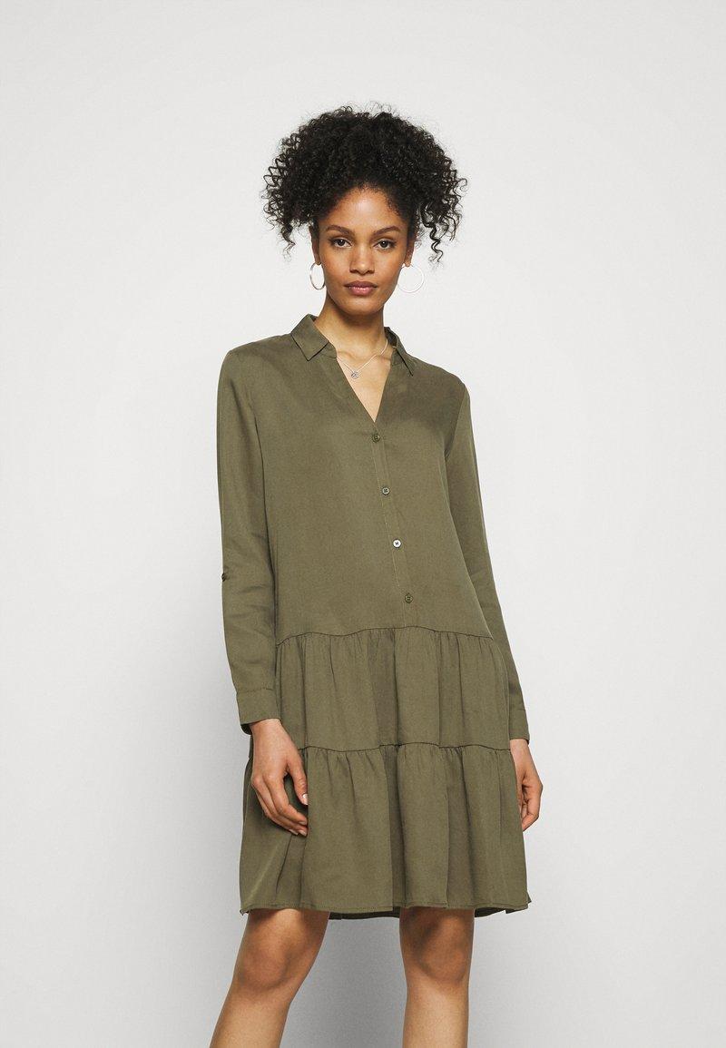 Esprit - DRESS - Day dress - khaki green