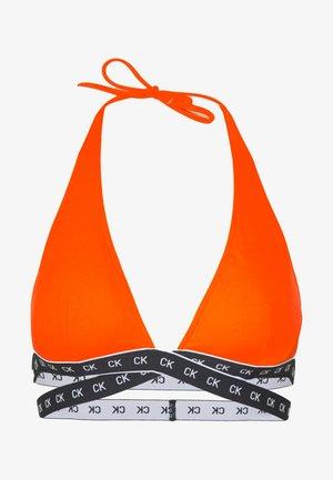CORE MONO TAPE HIGH APEX TRIANGLE - Top de bikini - vermillion orange