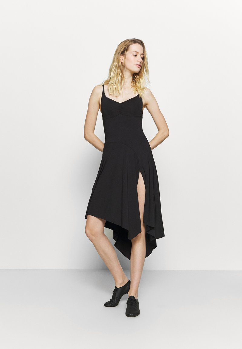 Bloch - ASYMMETRICAL HEM TANK DRESS - Jurken - black