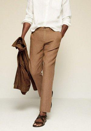 OYSTER - Chino kalhoty - tabac
