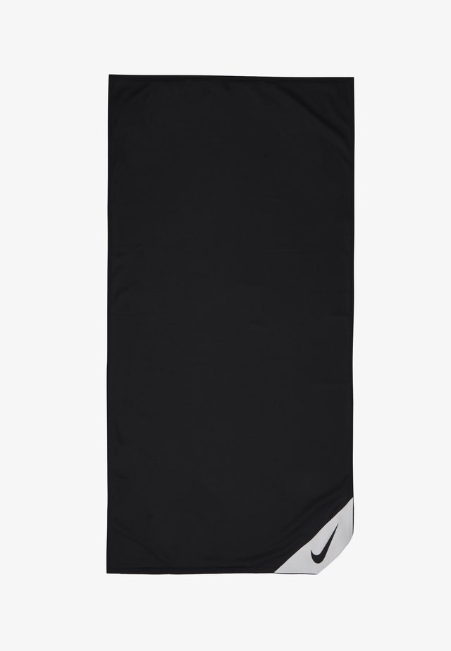 COOLING SMALL TOWEL - Toalla - black/white