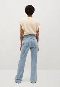 Mango - URBAN - Straight leg jeans - mittelblau - 2