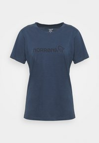 Print T-shirt - indigo night