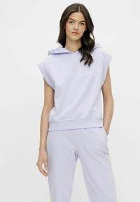 Pieces - Print T-shirt - purple heather - 0