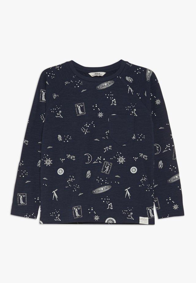 PASCAL RAGLAN - T-shirt à manches longues - mystic sky