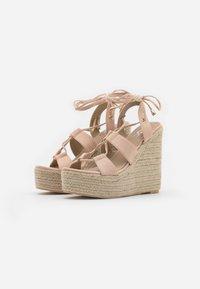 EGO - HATTIE - Sandalen met hoge hak - nude - 2