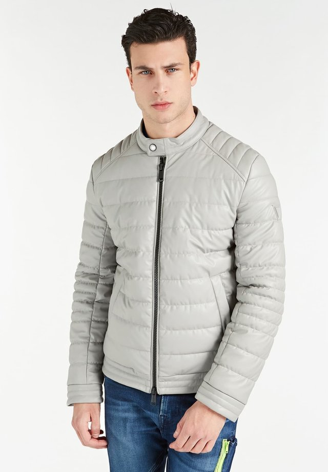 Down jacket - grau
