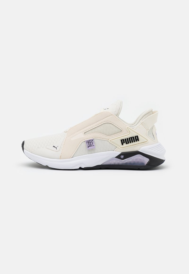 Puma - LQDCELL METHOD FM - Sports shoes - eggnog/light lavender/black