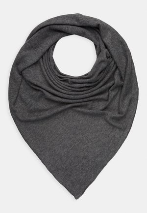 TRIANGLE SCARF - Foulard - medium grey