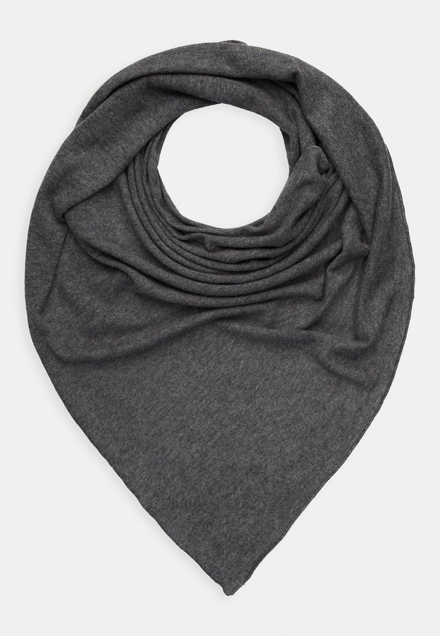 TRIANGLE SCARF - Šátek - medium grey