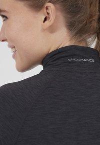 Endurance - CANNA  - Sports shirt - 1111 black melange - 2