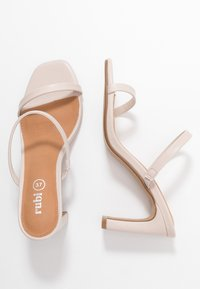 Rubi Shoes by Cotton On - LENNOX MULE - Heeled mules - nude - 3