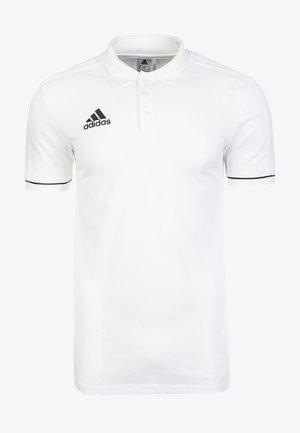 TIRO - Sports shirt - white/black