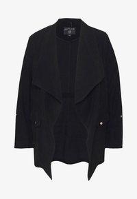 Dorothy Perkins Curve - SHORT WATERALL JACKET - Summer jacket - black - 4