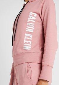 Calvin Klein Performance - HOODIE - Huppari - pink - 4