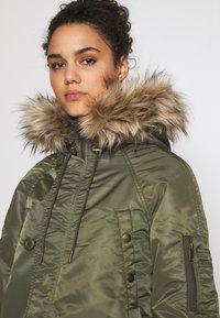 American Eagle - FLIGHT  - Winter coat - olive - 5