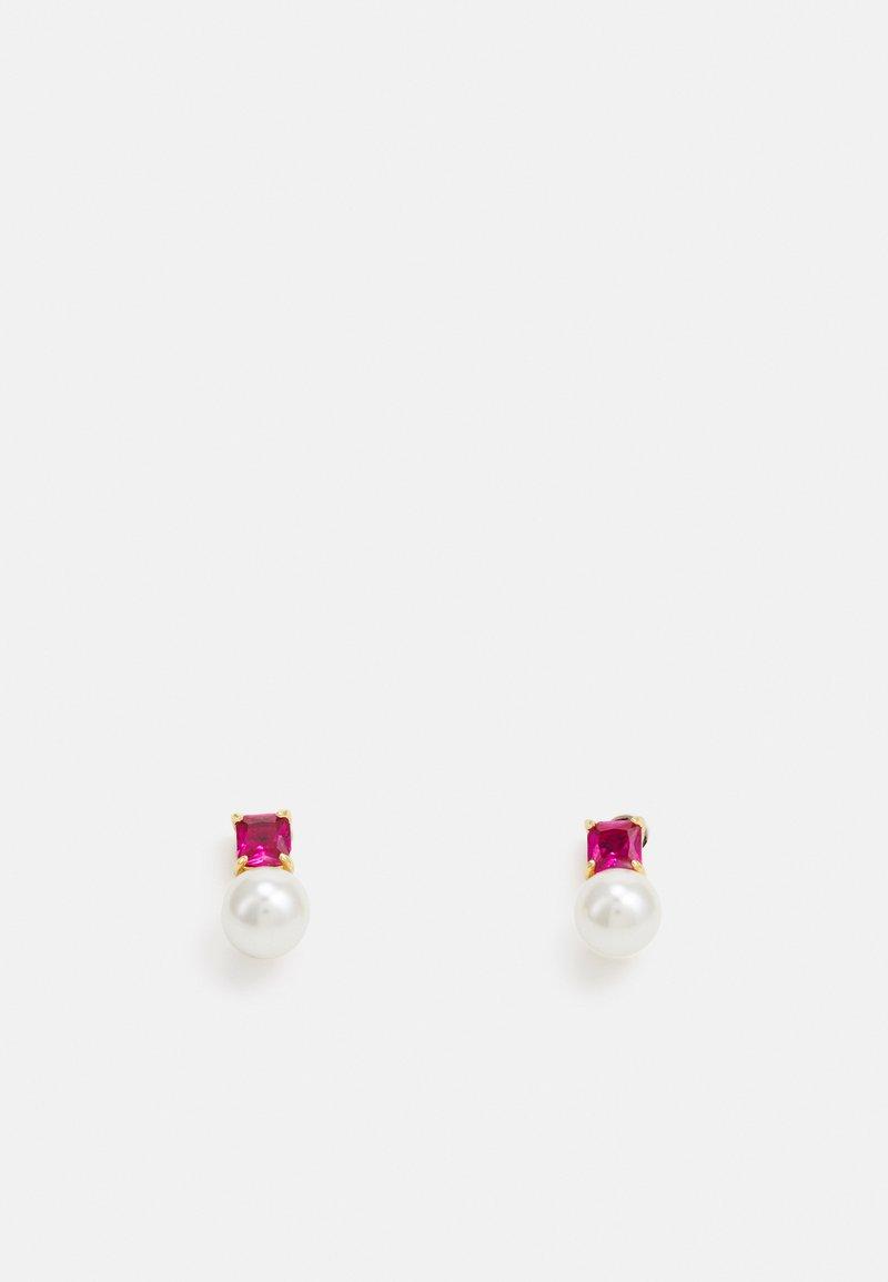 kate spade new york - MINI STUDS - Earrings - magenta