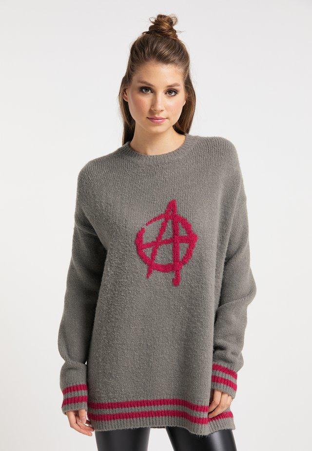 Pullover - asche