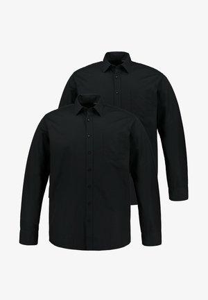 2 PACK - Formal shirt - mottled anthracite