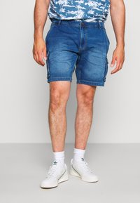 Blend - Jeansshorts - denim middle blue - 0