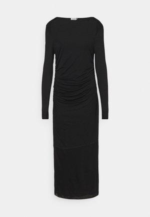 UMA DRESS - Robe en jersey - black