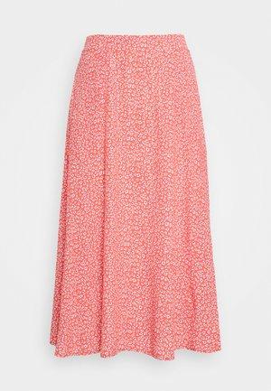 CIRCLE SKIRT - A-line skirt - pink