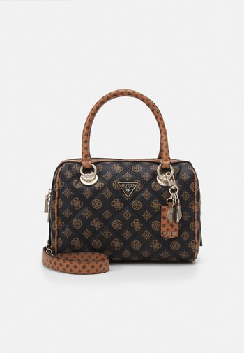 CESSILY BOX SATCHEL - Handbag - mocha multi