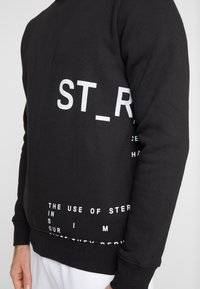 STEREOTYPE - INSTRUSTIONS CREW - Mikina - black - 5
