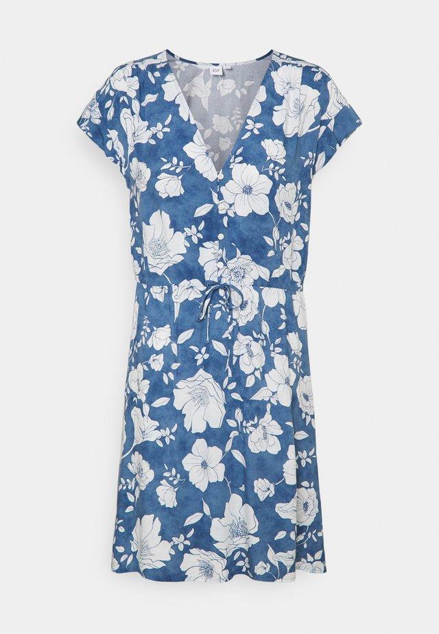 DRESS - Robe en jean - blue