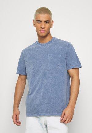 NEO MINERAL TEE - T-shirt basic - navy