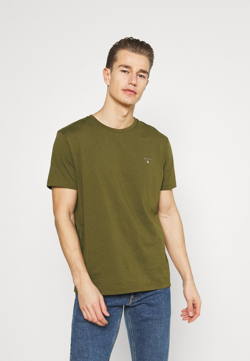 GANT - ORIGINAL - T-shirt basic - dark cactus