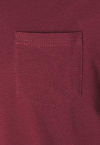 Pier One - SET - Pyjama set - bordeaux/dark blue - 4