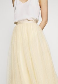 Needle & Thread - KISSES MIDAXI SKIRT - A-line skirt - yellow - 4