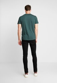TOM TAILOR DENIM - CULVER PRICE STARTER - Jeans Skinny Fit - black denim - 2