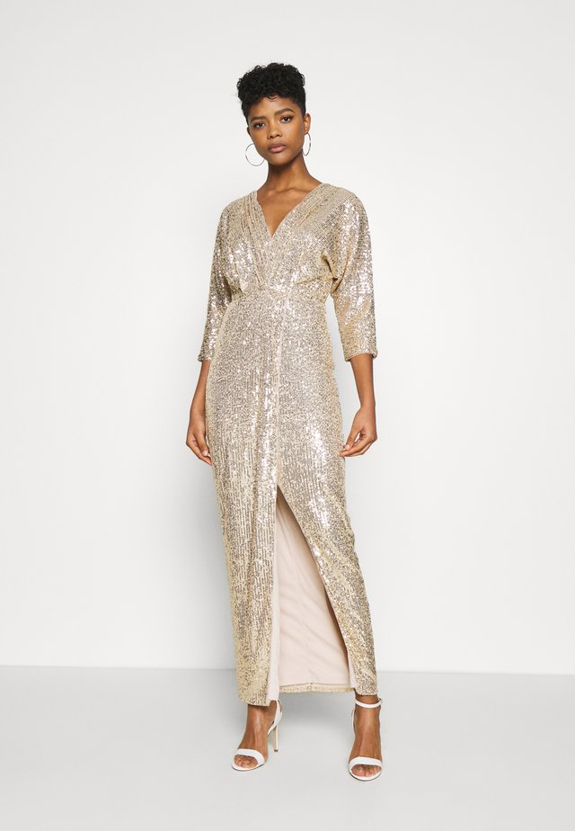 REEVIRA MAXI - Occasion wear - gold