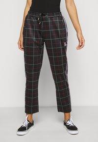 Fila Petite - WINTA CROPPED PANTS - Trousers - black - 0