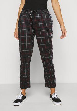 WINTA CROPPED PANTS - Kalhoty - black