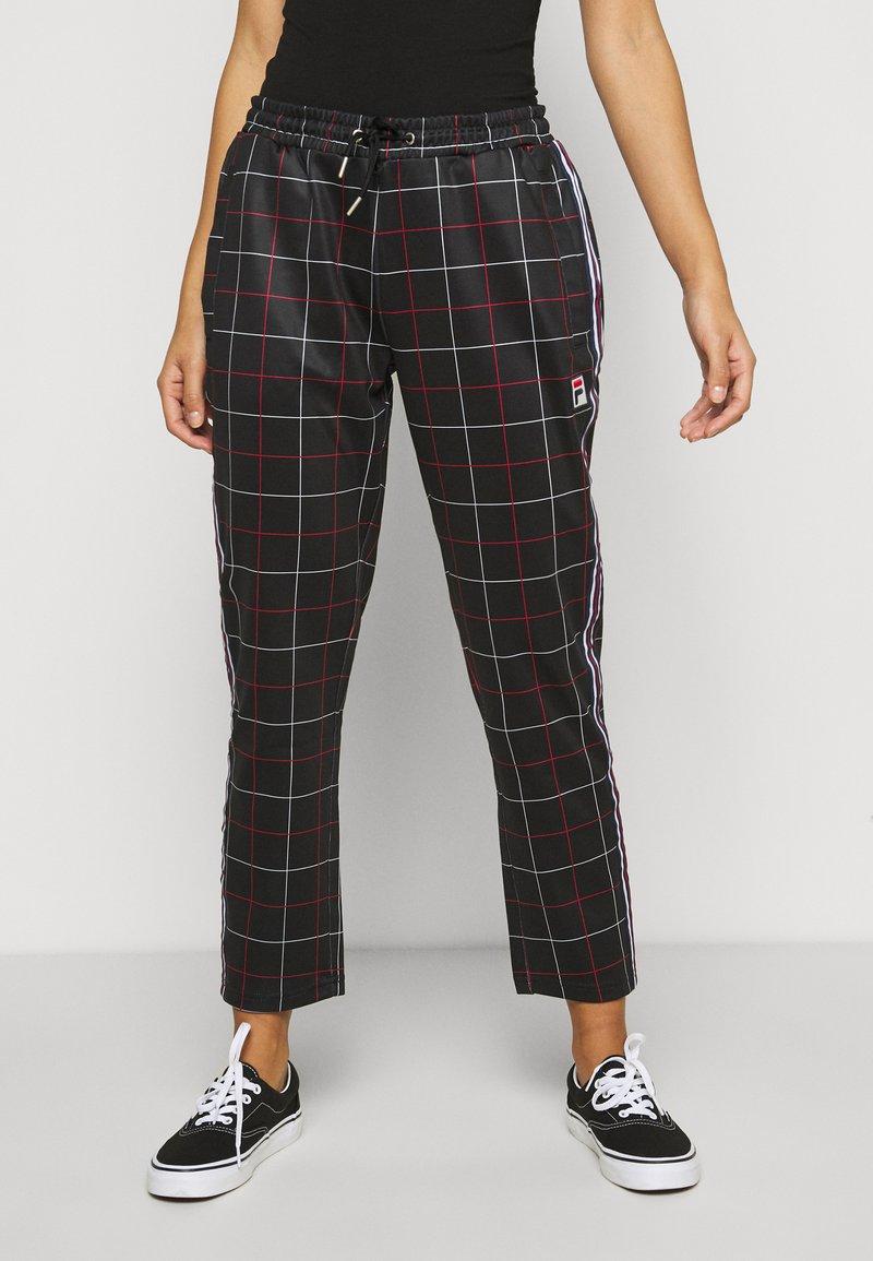 Fila Petite - WINTA CROPPED PANTS - Trousers - black