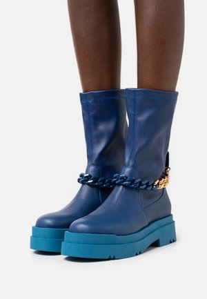 LEONIE HANNE - Batai su platforma - blue