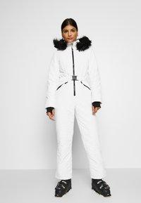 Missguided - SKI SNOW  - Jumpsuit - white - 0