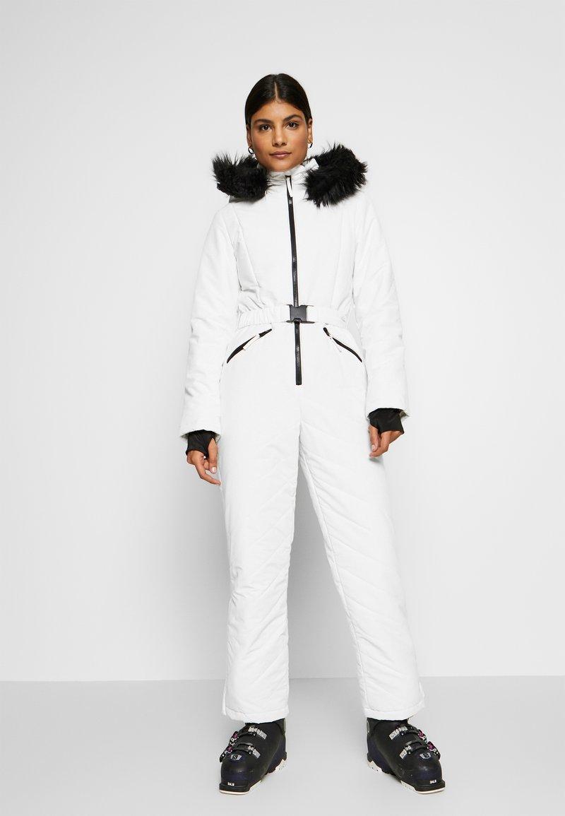 Missguided - SKI SNOW  - Jumpsuit - white