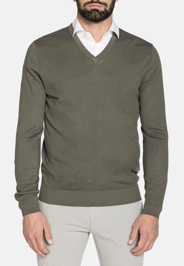 Maglione - verde militare