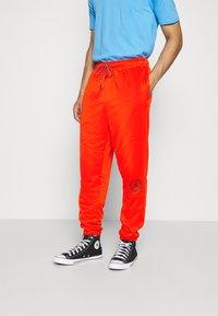 Jordan - PANT - Tracksuit bottoms - chile red/black - 0