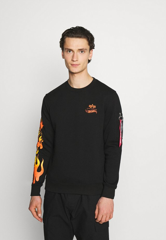 FLAME  - Sweatshirt - black