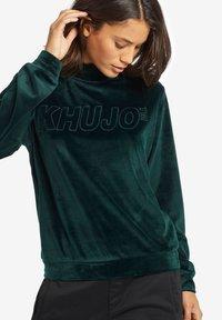 khujo - RISSA - Sweatshirt - turquoise - 4