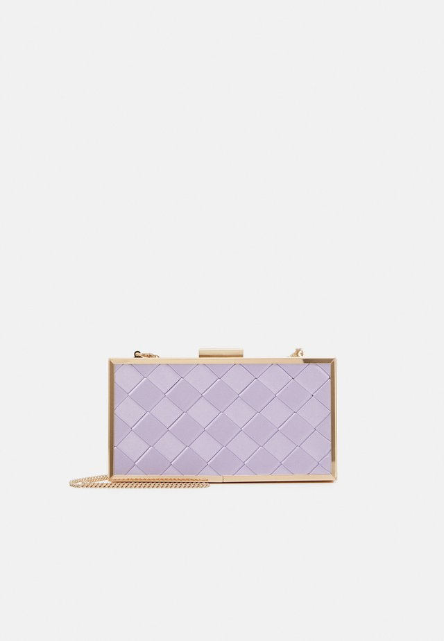 SONIA WEAVE HARDCASE  - Pochette - lilac