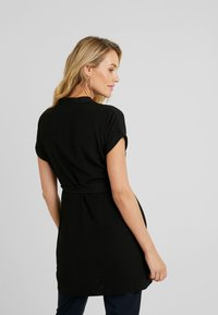 New Look Maternity - MARA OHEAD BELTED TUNIC - Blouse - black - 2