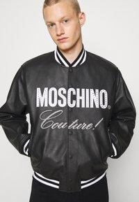 MOSCHINO - Leather jacket - black - 7