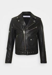 Iro - Leather jacket - black - 0