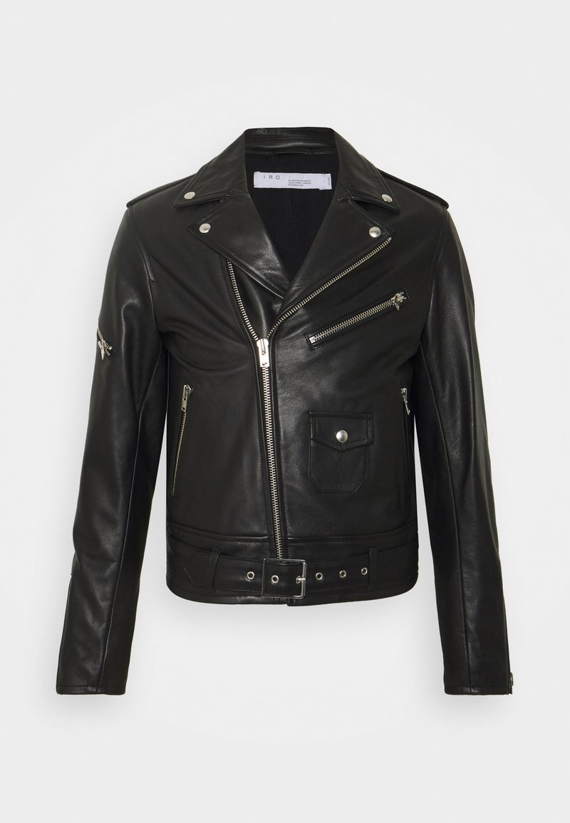 Iro - Leather jacket - black